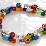 Multicolored Evil Eye and Sparkle B..